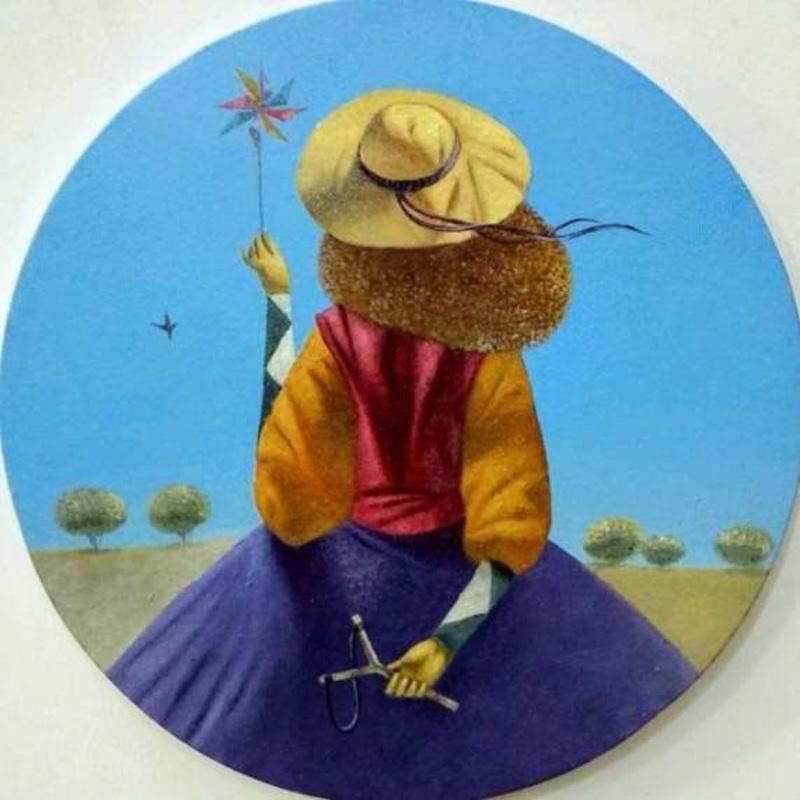 Bobur ISMOILOV - Pintura - Anticipation
