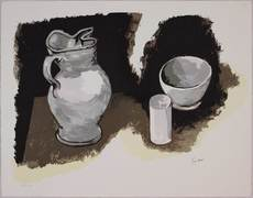 Renato GUTTUSO - Grabado - La brocca