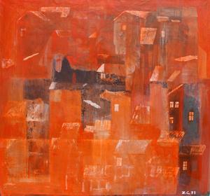 Zurab GIKASHVILI - Gemälde - Night