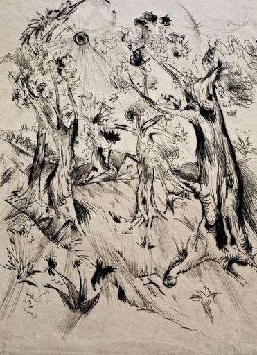 Bruno KRAUSKOPF - Print-Multiple - Expressive Landschaft