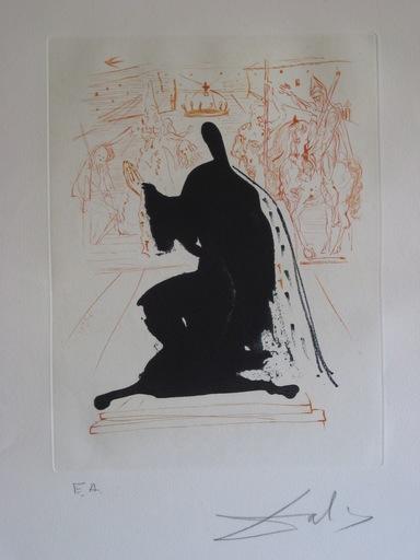 萨尔瓦多·达利 - 版画 - GRAVURE 1971/2 SIGNÉE AU CRAYON EA ML528 HANDSIGNED ETCHING