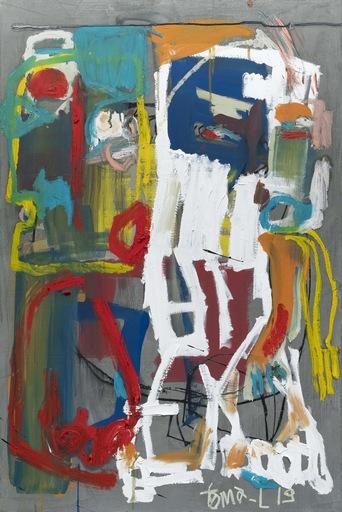Thomas LABARTHE - Painting - Little wood trash