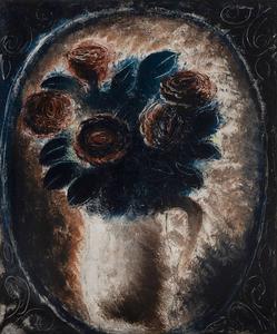 Jean FAUTRIER - Painting - Bouquet de fleurs