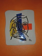 Fernand LÉGER (1881-1955) - visage aux deux mains
