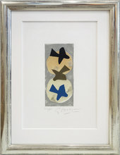 Georges BRAQUE - Estampe-Multiple - Soleil et Lune I - Sun and moon I