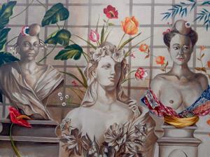 Patrick BRETAGNE - Pintura - Mariannes