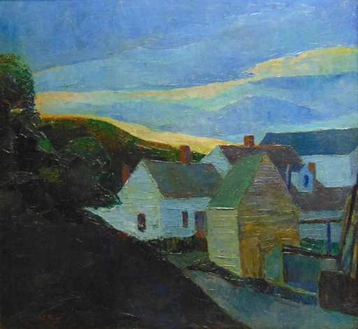 Harry Hutchinson SHAW - Pintura - Cape Cod