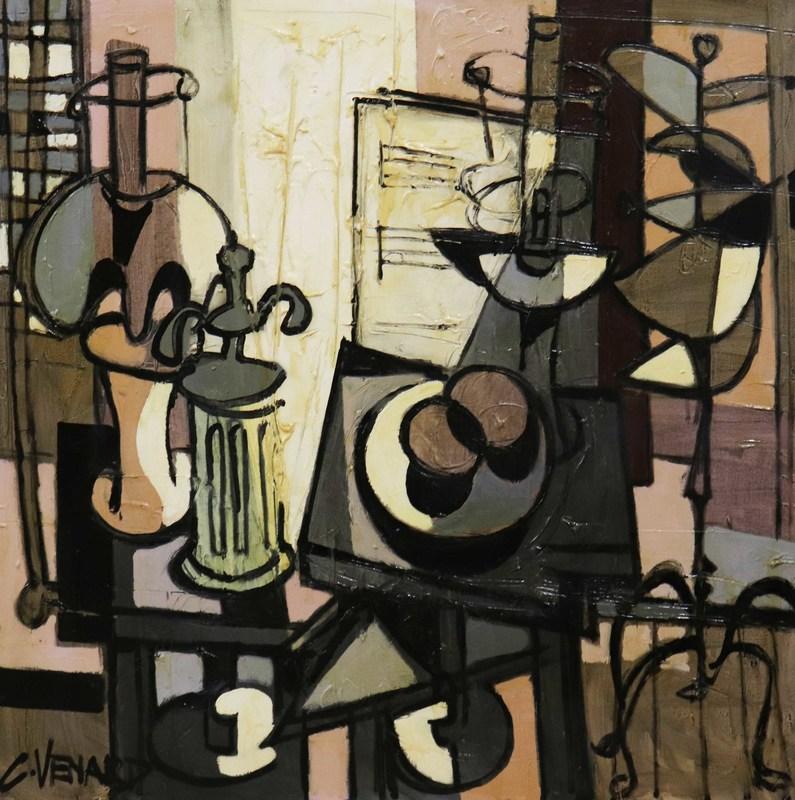 Claude VENARD - Peinture - Rayon de soleil