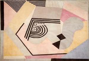 "Sonia DELAUNAY-TERK - Tapestry - Tapis ""Butterfly"""