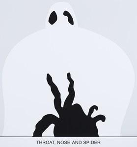 约翰·巴尔代萨里 - 版画 - Sediment: Throat, Nose and Spider