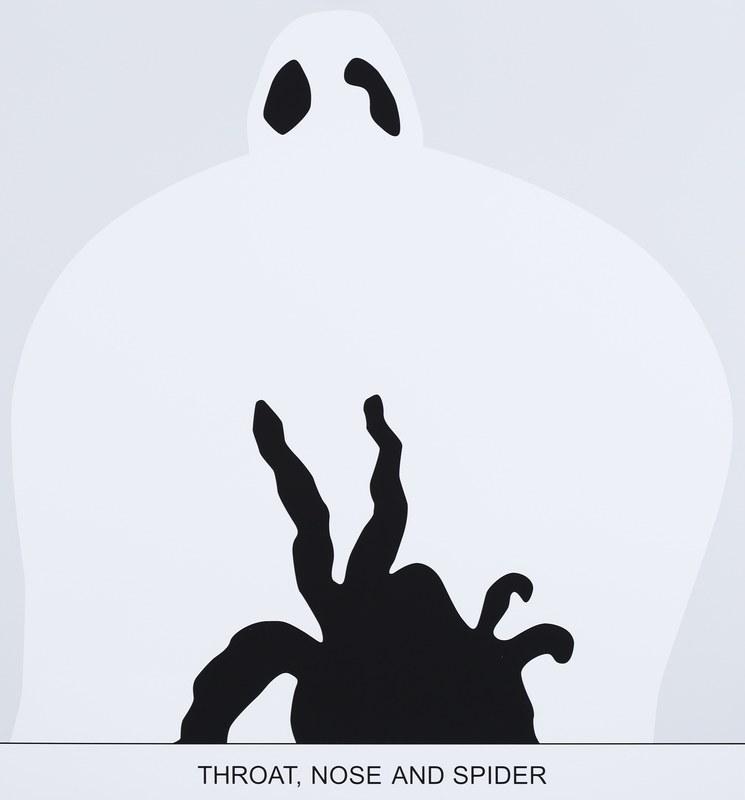 John BALDESSARI - Estampe-Multiple - Sediment: Throat, Nose and Spider