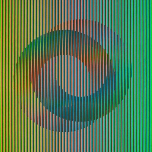 Carlos CRUZ-DIEZ - Print-Multiple - Serie Semana - Jueves