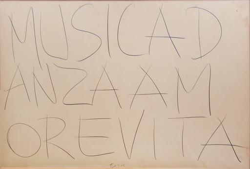 Giuseppe CHIARI - Zeichnung Aquarell - Musicadanzaamorevita