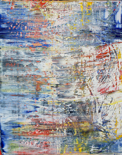 Harry James MOODY - Peinture - abstract Elene No.428