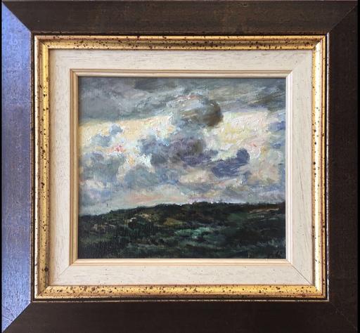 Miquel VILA BURGOS - Gemälde - Nuvols I