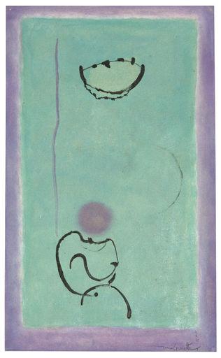 René GUIETTE - Pintura - Untitled