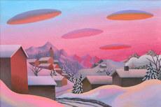 沙沃 - 绘画 - La valle