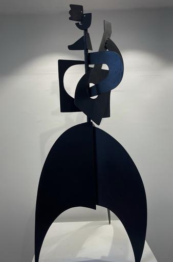 Antonine DE SAINT-PIERRE - Sculpture-Volume - L'homme à la Guitare