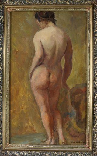 Jean SERRIÈRE - Peinture - Nu debout