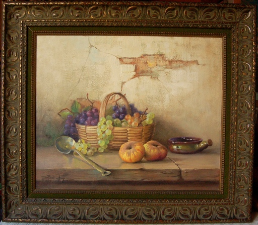 Robert CHAILLOUX - Painting - nature morte