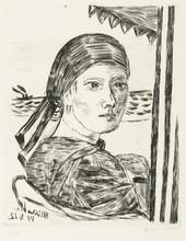 Max BECKMANN (1884-1950) - Minette