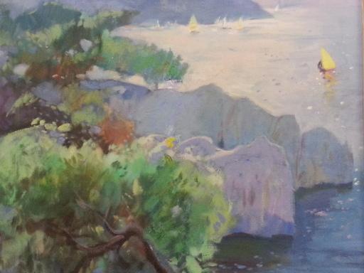 Carol SALUT - Pintura - Costa brava - Tamariu - Begur - Espagne