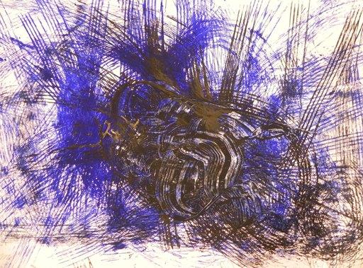 Yasuo SUMI - Dibujo Acuarela - untitled