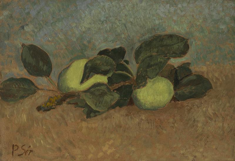 Paul SÉRUSIER - Painting - Nature morte à la branche de pommier