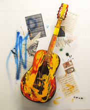 Giuseppe CHIARI - Painting - Chitarra