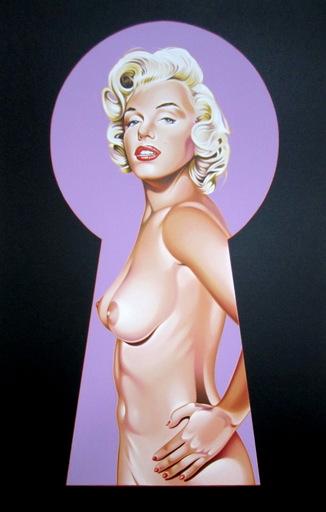 Mel RAMOS - Druckgrafik-Multiple - Peek-a-boo Marilyn 2