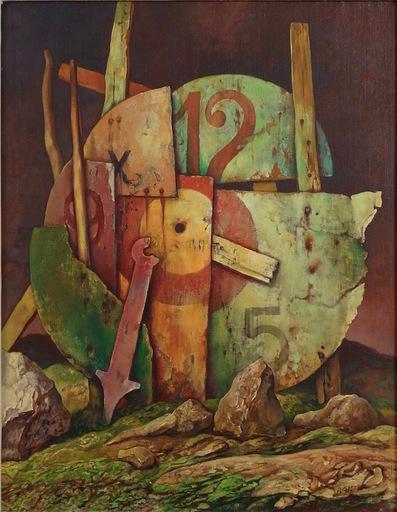 Samuel BAK - Gemälde - Timepiece
