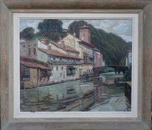Jean RIGAUD (1912-1999) - Saint-Jean-Pied-de-Port