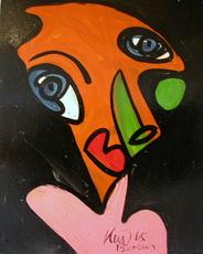 Peter Robert KEIL - Painting - Wiener Junge