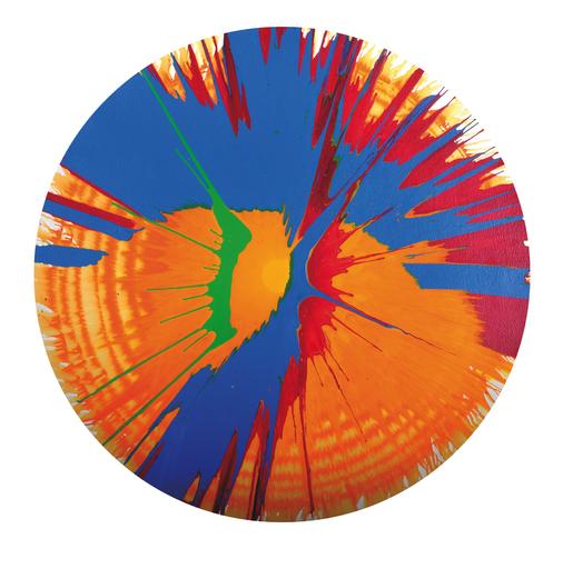 达米恩•赫斯特 - 绘画 - Spin