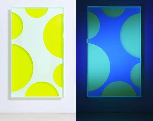 Regine SCHUMANN - Skulptur Volumen - Colormirror mesh 02