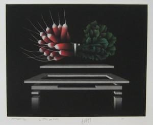 Mario AVATI - Druckgrafik-Multiple - GRAVURE 1977 SIGNÉE AU CRAYON NUM/XVI HANDSIGNED ETCHING