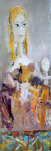 Levan URUSHADZE - Pittura - Blond's portrait