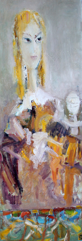 Levan URUSHADZE - Gemälde - Blond's portrait