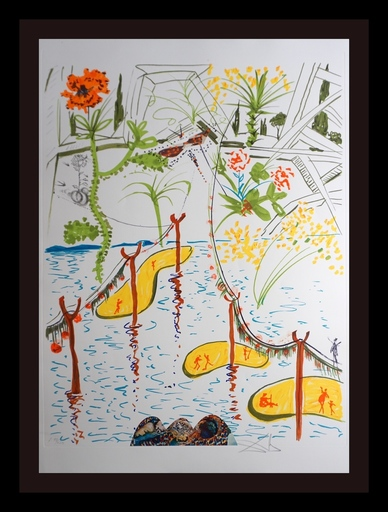 Salvador DALI - Stampa-Multiplo - Imaginations/Objects of Future Biological Garden
