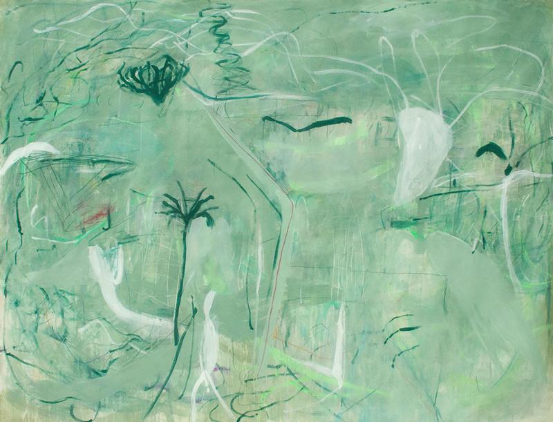 Macha POYNDER - Gemälde - That Is Why You Will Get Through this White Desert