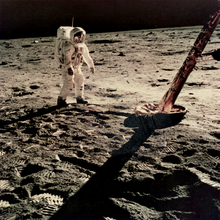 N.A.S.A. - Photography - Apollo 11 - Moonwalk, 21 July 1969