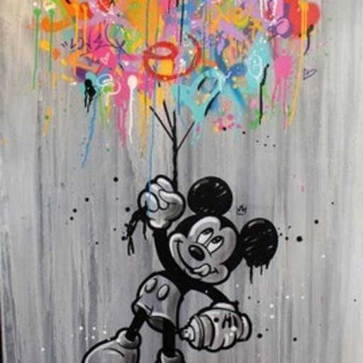 SEATY - Pintura - Look Away #3
