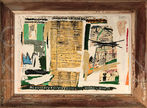 Jean-Michel BASQUIAT - Print-Multiple - Jawbone of an Ass