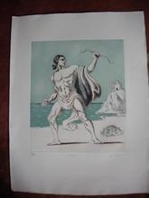 Giorgio DE CHIRICO - Stampa Multiplo - Teseo
