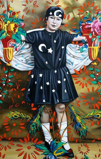 Karem ARRIETA - Painting - « Parade »