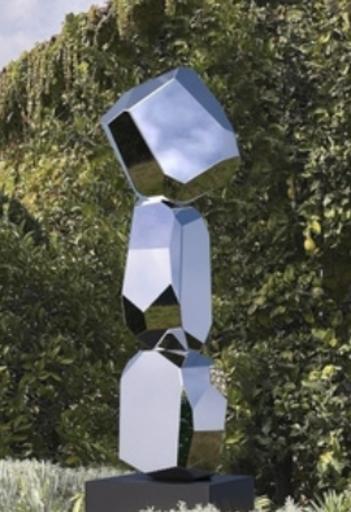 Arik LEVY - Skulptur Volumen - RockFormationTower 147