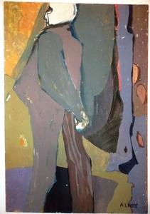 André LHOTE - Pintura - VILLON MON AMI