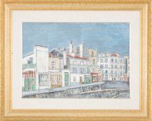 Orfeo TAMBURI - Painting - Case a Parigi