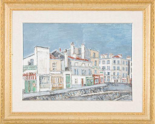 Orfeo TAMBURI - Peinture - Case a Parigi