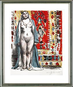 Lovis CORINTH - Print-Multiple - Lachendes Mädchen